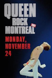 Poster do filme Queen Rock Montreal